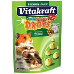 Milk and Honey Drops for Hamsters are the popular tidbit containing milk and honey, essential lecithin and no artificial colorings.