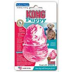 The only Kong toy designed with your puppy s mouth size in mind. Promoted healthy development of the mouth and good chewing behavior. Also soothes sore gums for teething pups.