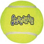 The Squeaker Tennis Balls for Dogs by Kong are made of high quality tennis ball material that won t hurt teeth or gums. Available in medium or large and includes a squeaker inside that makes noise when ball is squeezed. Perfect for outdoor fun!