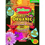 Organic blend for organic vegetables, herbs, and beautiful flowers Contains water holding crystals to control moisture Quick zip resealable bag Made in the usa
