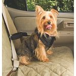 The Solvit Pet Vehicle Safety Harness is designed with your pet's safety and comfort in mind. Heavy-duty straps attach to a fully-padded, fleece-lined safety vest, and we use only FULL METAL connectors at all the load-bearing points - no plastic buckles