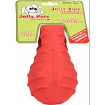 Made from specially formulated tuff blend of rubber and designed to stand up to the most powerful chewer Thick natural rubber and unique raised surfaces help clean teeth while dogs chew These chew toys feature a treat stuffing option to ensure your dog wi