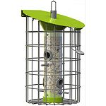Will attract tits, finches, sparrows, nuthatches, woodpeckers Stylish and beautifully made, the roundhaus is designed to attract a wide variety of birds year round Highly functional with a clever built-in hopper Suitable for year round feeding Easy to fil