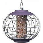 Attracts tits, greenfinches, sparrow, nuthatches, woodpeckers, and siskins Fill with large seed or peanuts Easy to fill and clean Perfect for year round feeding of feathered friends Squirrel, cat and big bird resistant Food catcher reduces waste