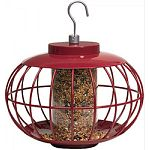 Attracts a wide variety of birds all year round Squirrel and predator proof Provides a safe feeding haven