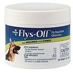 This special formula ointment for dogs protects wounds and sores from house flies, stable flies, face flies and horn flies. It also kills them on contact.
