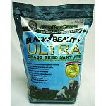 Black Beauty™ Ultra germinates faster due to Frontier Perennial Ryegrass. Fills in damaged lawn areas because of Blue-Tastic Kentucky Bluegrass. Black Beauty Ultra also has the three grasses in regular Black Beauty. These grasses grow a naturally dark-gre