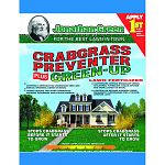 Crabgrass Preventer plus Greenup. Provides the nutrients needed for a beautiful, green thick lawn. Slow release formula will not burn the lawn.