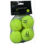 4 pack of tennis balls Great for training and exercise