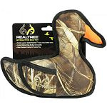 Double layered, quilted realtree heavy duty ballistic nylon Double stitched edge binding for durability Water resistant Great for all sizes of dogs