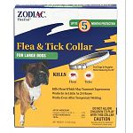 Easy-to-use collar kills fleas and Lyme disease-carrying ticks for up to five months. Works even when wet.  Active Ingredient: propoxur (CAS #114-26-1) 10%. For large dogs - necks up to 25 inches.