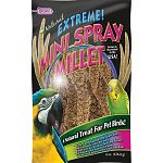 An excellent daily treat and supplement for caged birds. Easier to feed than the larger sprays. Mixes easily into the food. Ideal size for birds to hold and devour. Stimulates the natural foraging instinct and helps relieve cage boredom.