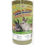 Fun hideaway and great tasty natural snack. Promotes natural chewing instinct. A great place to sleep, eat or just get away from it all.