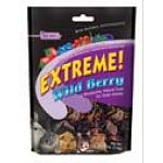 FM Brown's Extreme Wild Berry Treats for Small Animals - 3 oz. is made with real blackberries, cranberries, strawberries and blueberries for a tasty blend that your small animal will love! Ideal for rabbits, chinchillas, guinea pigs, hamsters, gerbils, ra