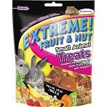 This fruit and nut mix for small animals is a variety of textures that small animals love to eat. Made with a mix of fruit, nuts, seeds and vegetables that are tasty and healthy for your small animal pet. Size is 10 oz.
