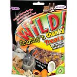 This tasty mix of oats, corn, dried fruit, coconut, nuts, and more is the perfect treat for a variety of small animal pets. Your small animal pet will love all of the unique tastes and textures. Size is 16 oz.