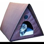 Excellent for several outdoor cats Waterproof construction allows placement anywhere 2 exits prevent cat from being trapped by predators Tool-free assembly