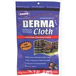 Dermacloth™ is a prepackaged disposable bathing and cleansing product for horses, dogs, livestock and other animals with similar coats. Developed first as an aid in treating certain types of skin problems, including ringworm.