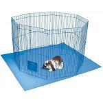 Pet n' Playpen is the Connectable Playtime Pen for Rabbits and Guinea Pigs, Plus with the Optional Passageway Connector and Locking Cap it's Perfect for Ferrets.