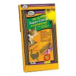 The Four Paws Slanted Scratching Pad is Sized for the average cat or Kitten. This scratching pad by Four Paws is laced with Catnip and offers the cat a steady ski-slope pad to scratch on.