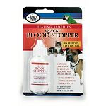 Four Paws Healing Remedies Antiseptic Quick Blood Stopper is designed to be used by both veterinarians and breeders to aid in the stopping of blood when docking, cropping and/or nail cutting. For use on dogs, cats and birds.