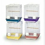 16 x 16 x 22 square top parakeet cage in assorted colors.