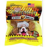 100% all-natural beef, chicken and turkey treats. Mixed with antioxidant-rich sweet potato and come in regular or bite size to suit any dog. Made in the usa Soy free, gluten free, and with no additives or preservatives