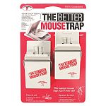 No complicated mechanical parts, just press to set and squeeze to release. No-touch design makes these traps a snap to use. For mice, moles, shrews and other small animals.