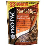 PRO PAC Nut R Nipz are the perfect way to reward your dog while providing a delicious supplement to his diet. Formulated to complement PRO PAC superpremium dog food. Available in Case of 6 - 32 oz. pouch each.