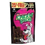 Chick'N'Sticks are an awesome treat for your dog. They're chewy, delicious and packed with the taste of yummy real chicken. Chick'N'Sticks chewy treats are a great training aid or everyday reward for your best buddy!