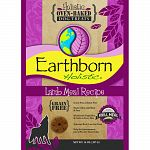Made without grain or gluten, earthborn holistic oven-bakedlamb meal recipe biscuits are perfect as a grain-free alter Native treat. Wholesome vegetables and fruit in every bite. Nutrient- rich, low-fat treat. Made in the usa