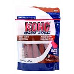 Jerky coated chew sticks with real beef and long lasting rawhide are a great anytime chew or treat. These sticks are also a tasty way to help keep your dogs teeth clean.