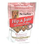 Hip and Joint Soft Chews are a tasty and healthy treat for your dog. Made with glucosamine and chondroitin to help improve joint function and healthy connective tissues. Easy to give to your dog and great for dogs of any age.