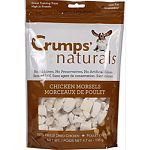A delicious, healthy chicken treat freeze dried to seal in freshness Cut in bite sized portions for easy use Excellent treat for smaller dogs Made from 100% usda chicken