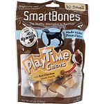 Real chicken treats inside for delicious play time entertainment Safe rawhide-free Easy to digest Fortified with vitamins and minerals