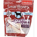 With long lasting chew center for extended chewing entertainment Safe rawhide-free Easy to digest Fortified with vitamins and minerals.