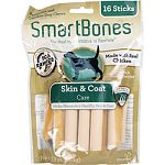 With essential fatty acids Safe rawhide free Easy to digest Fortified with vitamins and minerals
