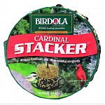This Birdola Cardinal Stacker is perfect if you want to attract cardinals and other colorful songbirds. The stacker includes premium seed mix, such as, black oil sunflower and safflower seeds and is free of filler seeds.