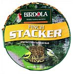 Birdola Finch Stacker is a premium blend of songbird feed that's held together in a tight cake form. This low maintenance, simple bird feed specifically attracts finches and other small songbirds