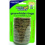 16 natural rawhide dog treats. Completely irresistable. Large fits bouncy bone medium/large bci#066977, large bci#066978, bristle bone large bci# 066987.