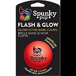 Floats and squeaks Glows in the dark - play day or night