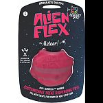 100% trademarked alien flex candy scented rubber Customizable treat dispensing toy - customize the treat challenge by cutting pins Fill with treats for hours of non-stop fun