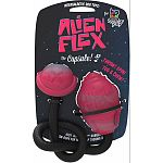 100% trademarked alien flex candy scented rubber Great for games of tug-o-war or fetch