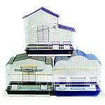 Prepack of 3 models of cockatiel cages, each 26 x 14 base x 24 h, 1//2 wire spacing, 3 designs per case. Includes 1 of each model #41618, #41615 and #47 Removable grille and pull-out debris tray for easy cleaning.