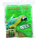 Contains 1 large, 2 medium and 3 small paks pre-loaded with eco-nest Encourages and develops natural foraging skills Unique foraging holes that encourage activity and enhance your bird s environment