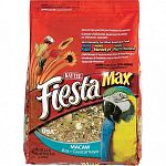 Fiesta macaw combines the best fruits, vegetables, nuts and specialty seeds into a nutritious, gourmet diet. Makes eating more fun for playful birds.