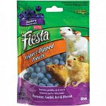 The Fiesta Hamster Blueberry Yogurt Dips are crunchy fortified nuggets with a smooth, delicious, fruit flavored yogurt coating. The Fiesta Hamster Blueberry Yogurt Dips are a healthy and fun treat for your pet!