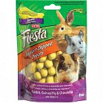 Crunchy fortified nuggest with a smooth, delicious, fruit flavored yogurt coating. A healthy and fun treat for your pet.