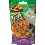 Fiesta healthy toppings for small animals.  Choose from three different flavors. Small Pets love the taste and you will love the nutritional value.