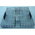 A unique multi-catch squirrel trap that can catch dozens of squirrels in a matter of hours No more spreading costly baits that can harm other non targeted animals Trap only, no basin tray included